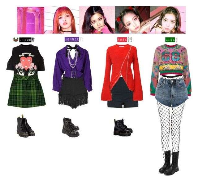 """Blackpink Outfit Ideas: AS IF IT'S YOUR LAST ️"""" By Vvvan99 On"""