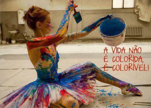 Faz da tua vida um arco-íris!