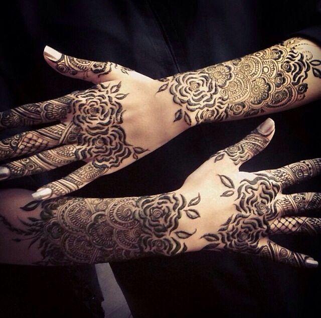 Rosey arabic henna mendhi