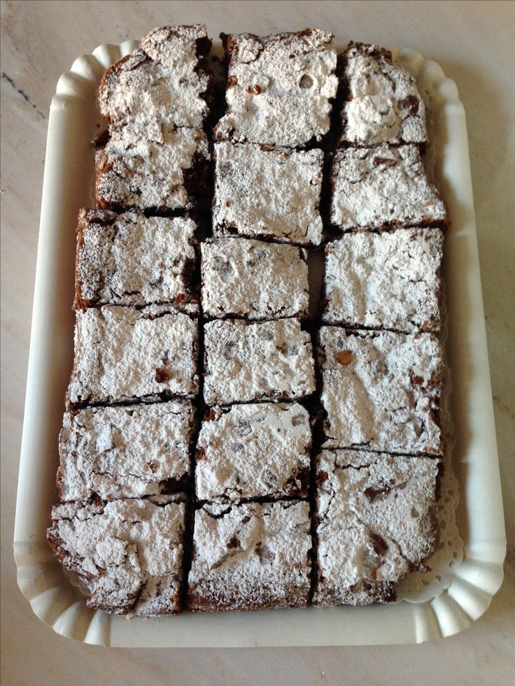 Brownies classici