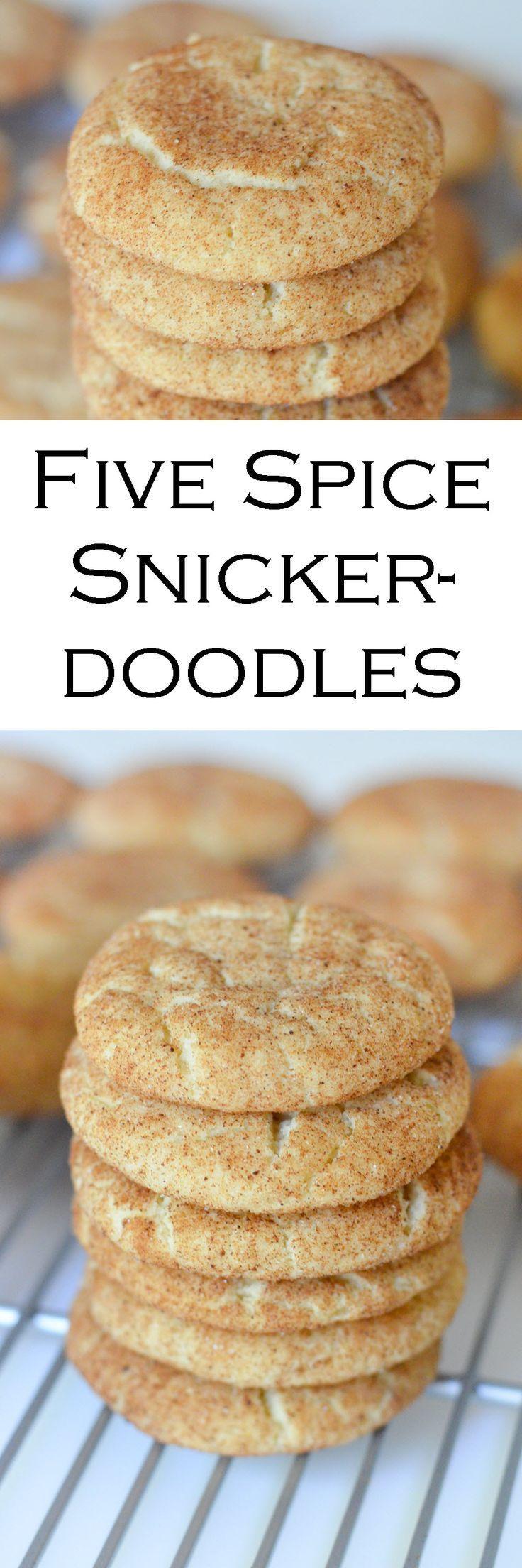 Five Spice Snickerdoodles Cookies Recipe