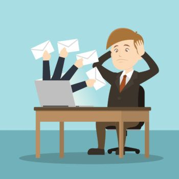 6 solutions de prévention pour éviter d'être submergé par les emails