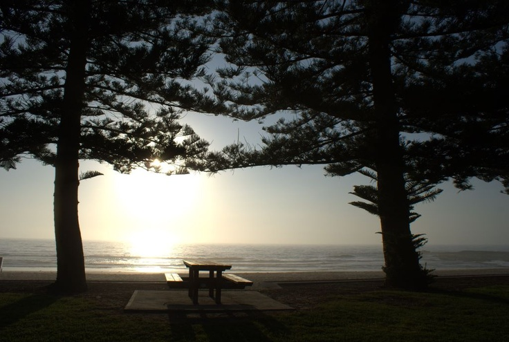 Sunrise at Coledale Beach. NSW