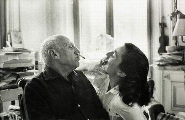 Picasso & Jacqueline Roque
