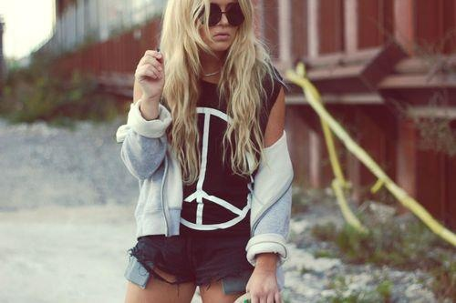 : Beaches, Hipster, Hippie, Street Style, Peace Signs, Inspiration Pictures, Casual Looks, Music Festivals, Hair