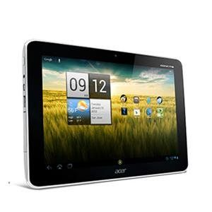 "10.1"" Tegra T30L Android 4.0 (HT.HAAAA.002) -. Acer - Iconia A210-10G16u Tablet - Android 4.0 (Ice Cream Sandwich) - 10.1-inch (1280x800) Touchscreen. NVIDIA Tegra 3 Quad Core 1.2GHz - 1GB RAM - 16GB Flash Memory. NVIDIA GeForce GPU - 802.11 b/g/n - Bluetooth - Webcam. Stereo Speakers - Micro USB - USB 2.0 - MicroSD Card Slot - Built-in Microphone. 2-cell Lithium-polymer."
