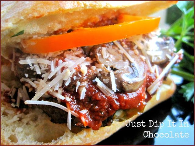 Pizza Burger Recipe | Just Dip It In Chocolate: Pizza Burgers Recipe