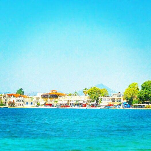Port eretria village-evia Greece