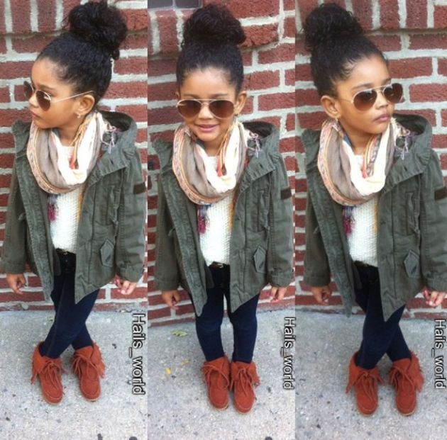 Cute kids fashions outfits for fall and winter 4