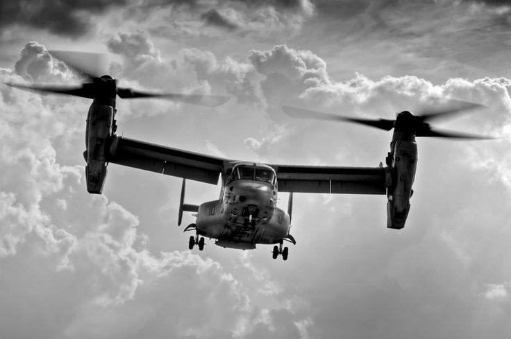 MV-22 Osprey  This is what the Pilot flies.   #Marines