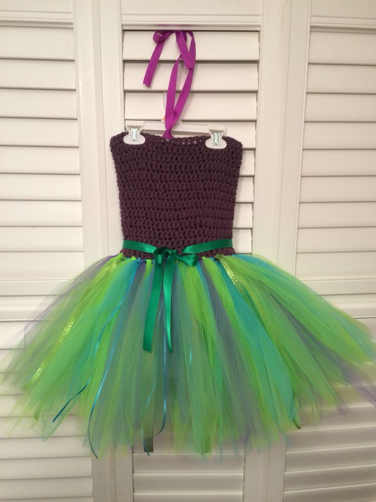 The little mermaid tutu dress for a special birthday girl