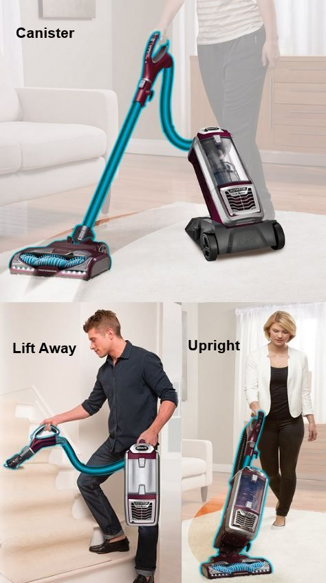 The Shark Rotator NV752 TruePet is a very good vacuum cleaner. It has powerful suction, operates as an upright, a canister and a handheld, and it comes with a host of attachments.  In addition, it works well on pet hair and consumer ratings are excellent.