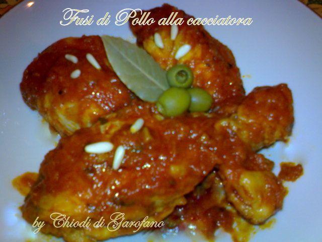 Fusi di Pollo alla cacciatora http://blog.giallozafferano.it/chiodidigarofano/fusi-pollo-cacciatora