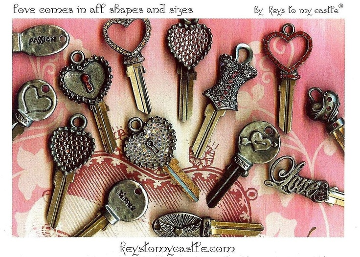 17 best images about key designs on pinterest swarovski for What can you do with old keys