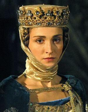 Les Rois maudits Isabelle de France (Julie Gayet)