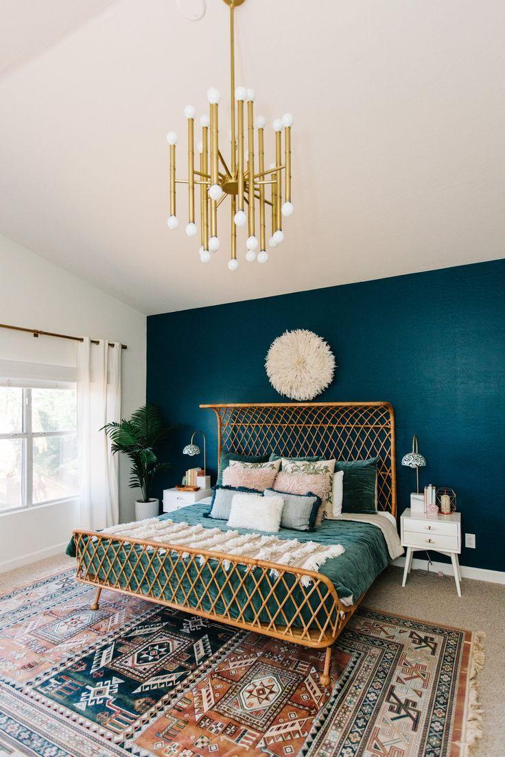 Winter Velvet with Garnet Hill — AVE Styles   Teal bedroom decor ...