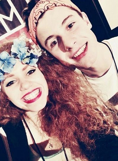 Mahogany Lox and Shawn Mendes- Mahogany is so pretty.
