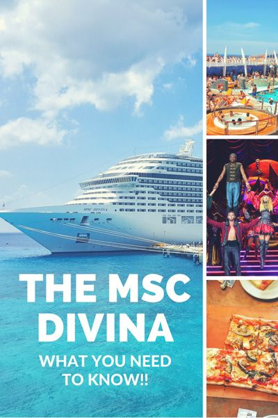 MSC Divina Review From Miami To Mexico via @onemoderncouple