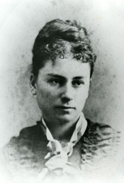 Grace Lockhart, the first woman to receive a Bachelor of Arts degree in 1875 from Mount Allison University in New Brunswick