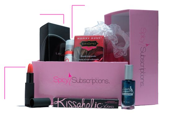 """Every month you'll receive a uniquely themed box of intimate & romantic products to spice things up! Get 3 FREE BOXES using code """"3FREE"""" on our 8 Month Subscription!"""