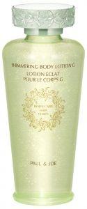 Paul & Joe Shimmer Body Lotion  http://www.beautyland.co.uk/shop/shimmering-body-lotion/
