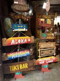 Tiki bar decor ideas