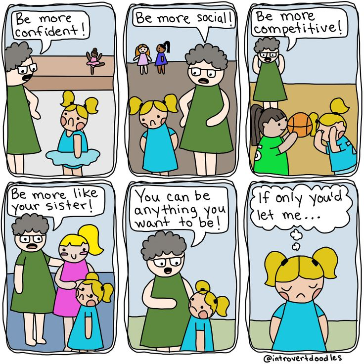 Best Understanding Introverts Images On Pinterest Brain - Hilarious comics that every introvert will understand