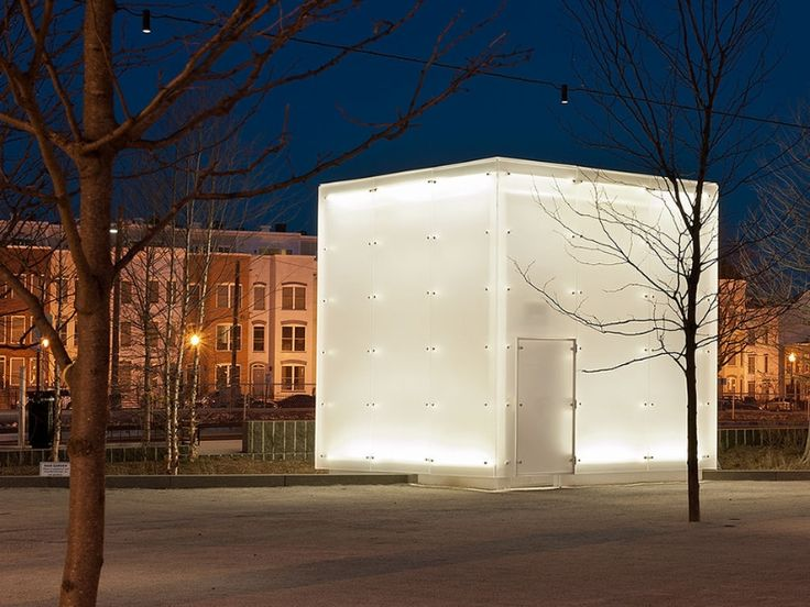 Canal Park. Frosted acrylic cube   Acrylic Construction ...