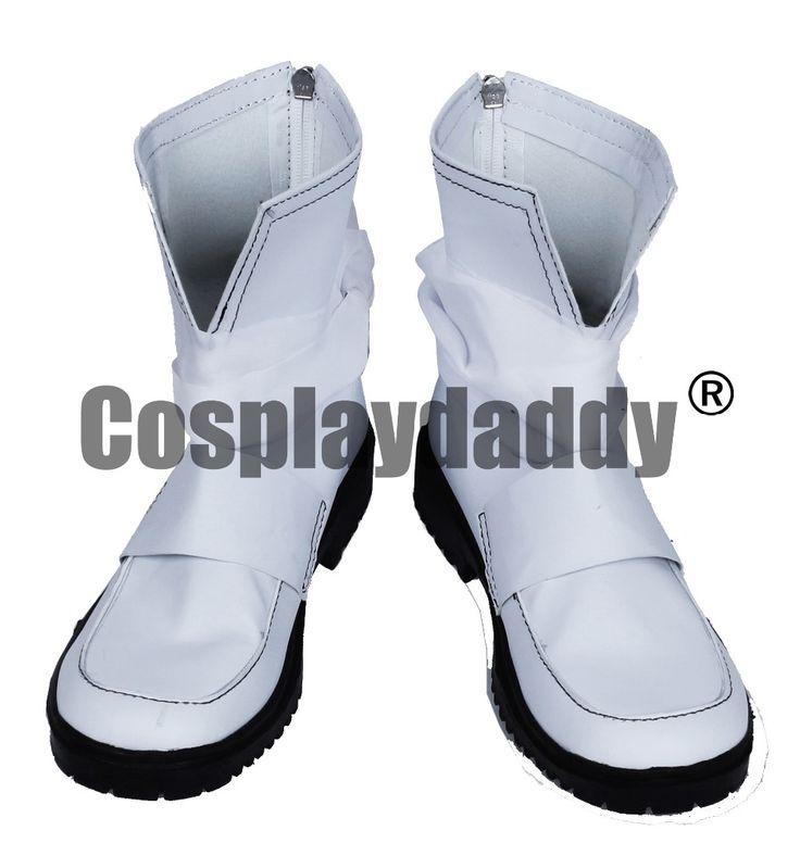 >> Click to Buy << Dorifutazu Minamoto no Yoshitsune White Short Cosplay Shoes Boots S008 #Affiliate