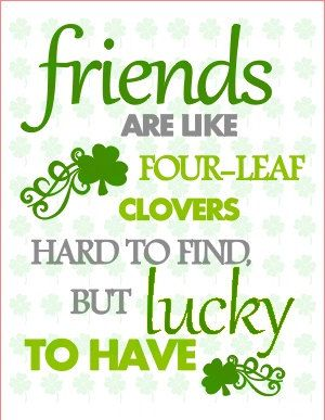 St. Patrick's Day Quote Digital Download by PeepsCraftyProducts, $4.75