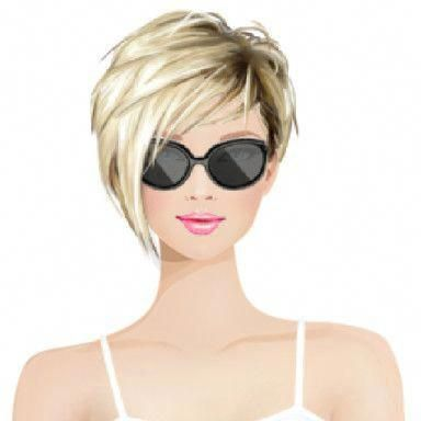 Another point of these new short hairstyles, is getting younger looks with style – Dazhimen #shorthairstyles