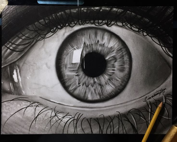 how to draw a realistic eye markcrilley