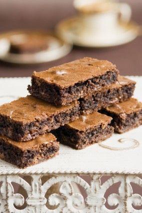 Haigh's Chocolate Honeycomb Brownies  This fudgy brownie uses Haigh's 70% Cocoa Chocolate and Dark Honeycomb Block.