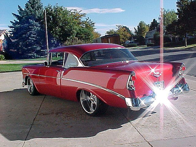 1) Somerhing from/for - Debbie's Land, Sea and Air - 56 Chevy #cars