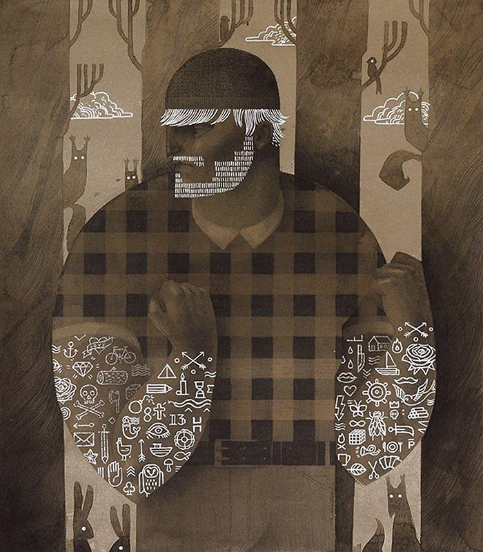 Punchy, High Contrast Illustrations by Patrycja Podkoscielny