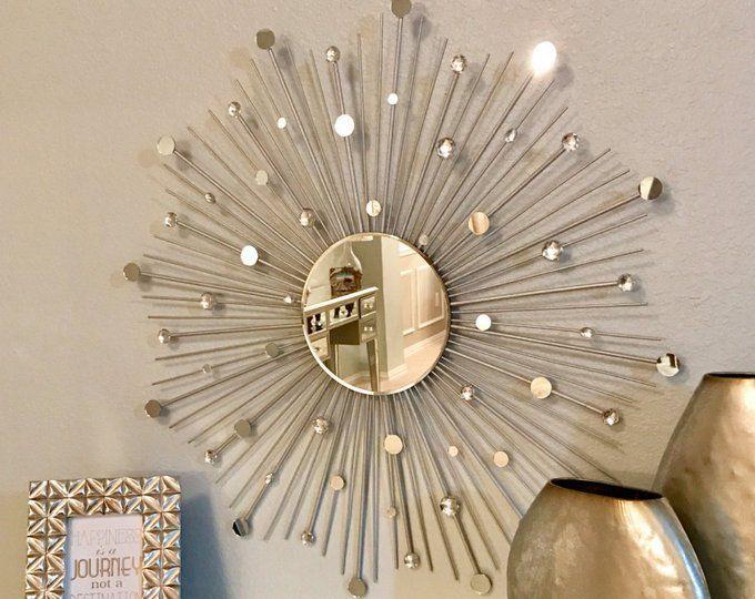 30 Glamorous Sunburst Starburst Mirror Etsy Starburst Mirror Gold Sunburst Mirror Sunburst Mirror