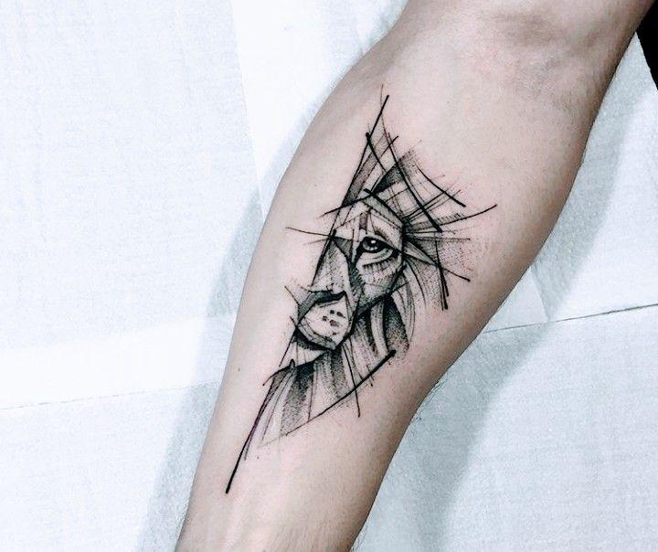 Upper left inside arm