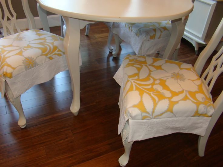 1000 images about barstool slipcovers on pinterest chairs two tones and parsons chairs - How to make easy slipcovers for dining room chairs ...