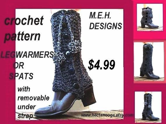 34 best Crochet spats and leg warmers images on Pinterest | Crochet ...