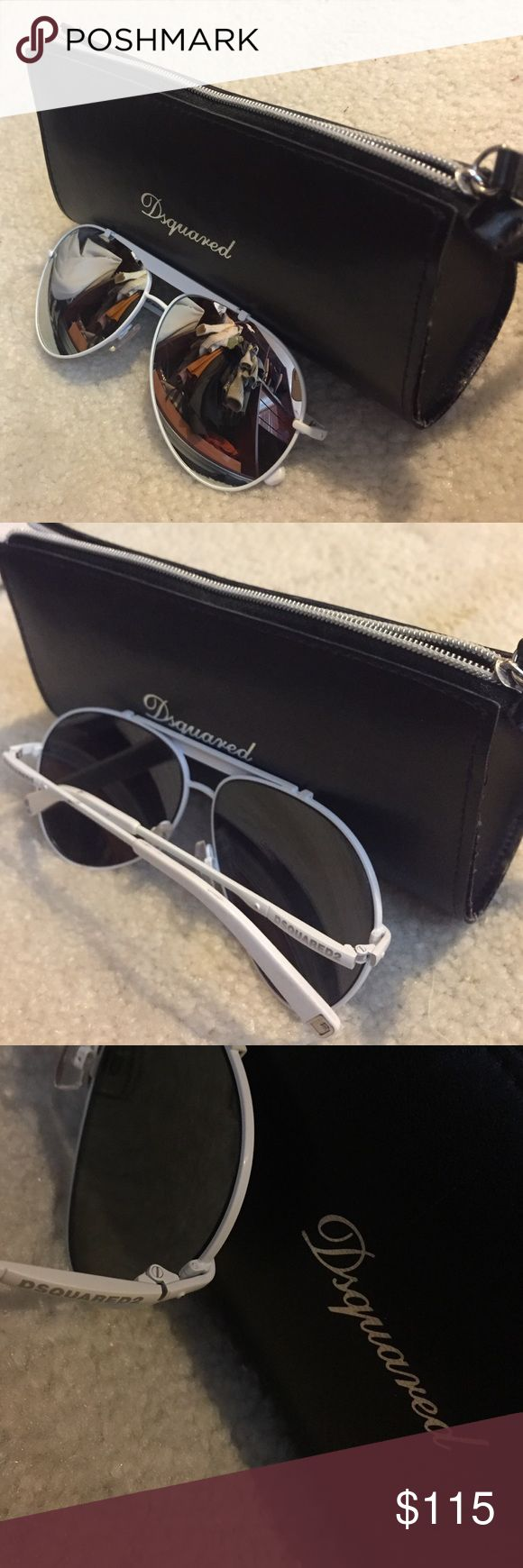Dsquared Sunglasses Beautiful reflective sunglasses, worn a few times! DSQUARED Accessories Sunglasses