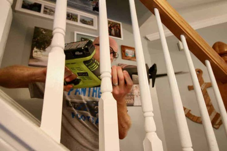 Best How To Replace Wooden Balusters With Iron The Easy And Cheap Way Diy Staircase Stair Railing 400 x 300