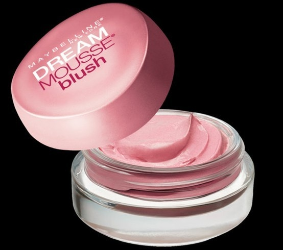 Maybelline Mousse Blush- love this stuff. Pigmented and easy to blend.