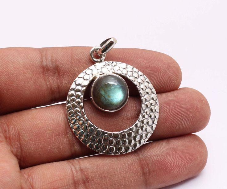 54 best handmade pendants images on pinterest sterling silver natural handmade blue labradorite gemstone 925 sterling silver pendant jewelry handmade pendant audiocablefo