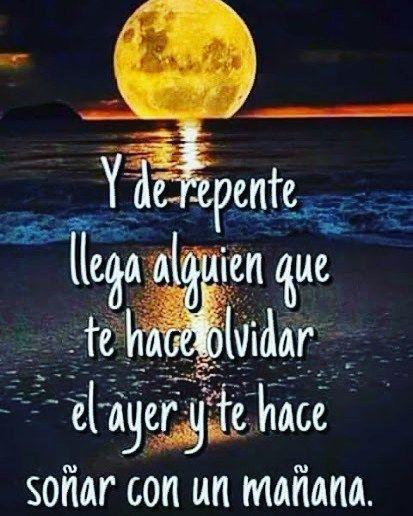 Al Barela (@albarela) Y así como la luna aparece para alumbrar los momentos más oscuros, llega alguien a tu vida con un…