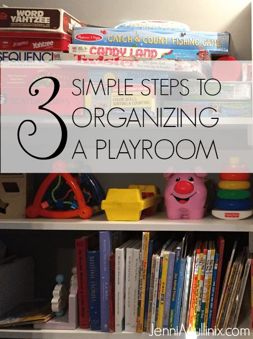 3 Simple Steps to Toy Organization + Playroom Tour