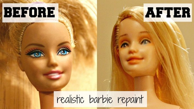 Realistic Barbie Repaint: Aubrey's Story