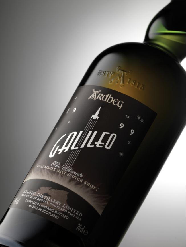 Ardbeg Galileo.    This pin is not intended to be seen by persons under the legal alcohol drinking/buying age in their country and not to be seen in countries with restrictions on advertising on alcoholic beverages