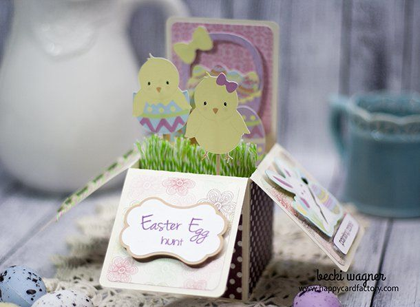 The 25 best card factory ideas on pinterest card case make a easter card in a box featuring graphics from prettygrafikdesign happy card factory negle Images