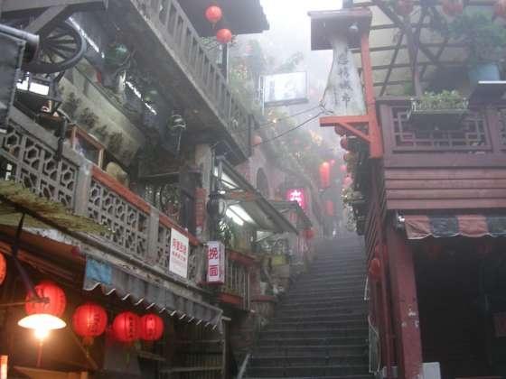 Jioufen at Taiwan