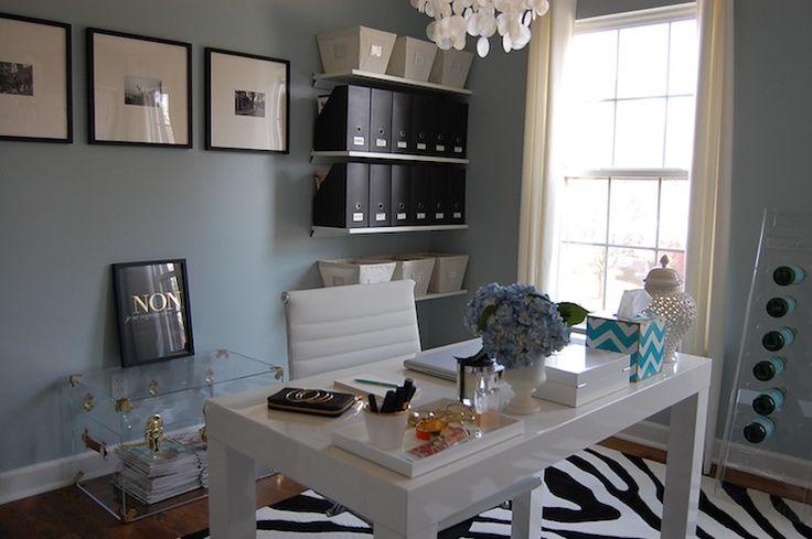 dens libraries offices benjamin moore smoke west elm. Black Bedroom Furniture Sets. Home Design Ideas